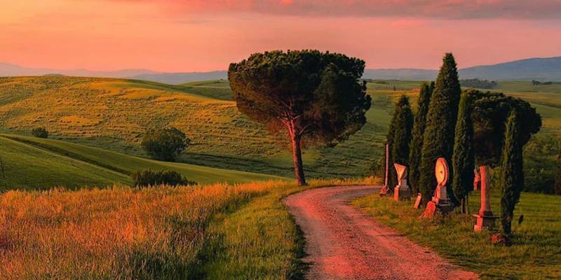 Siena e Val d'Orca